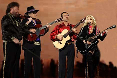 Vadim Kolpakov has sung, played his guitar and danced his way around the world, even joining Madonna for her world tour from 2008 to 2009. Source: Press Photo.