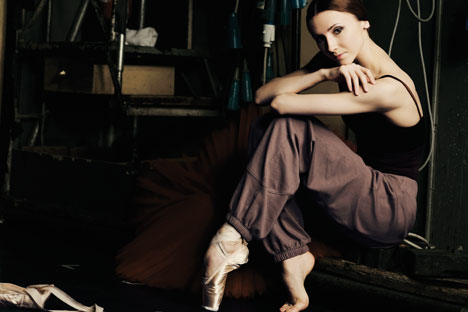 """Svetlana Zakharova: """"I have had difficult moments, but they're over and I don't want to remember them or talk about them."""" Source: Anders Brogaard"""