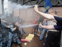 Ukranian opposition opposes against russian language