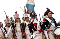 Large-scale reconstruction of the 1812 war took place in the Smolensk Region