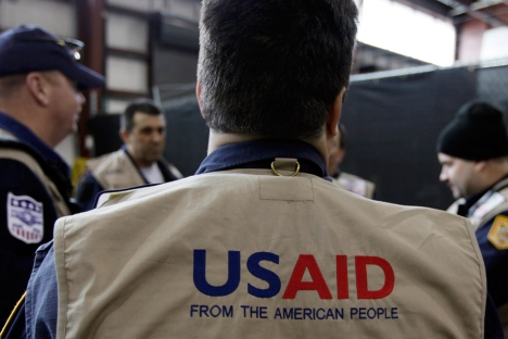 There was a direct link between the passing of the NGO law and the shutdown of USAID operations in Russia, said a source in U.S. Government. Source: AP