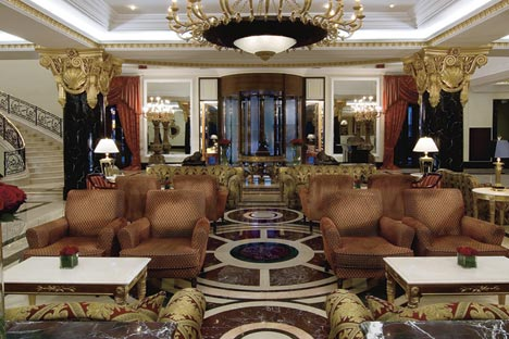 Opulent option: the five-star Ritz Carlton Hotel in Moscow. Source: Press Photo