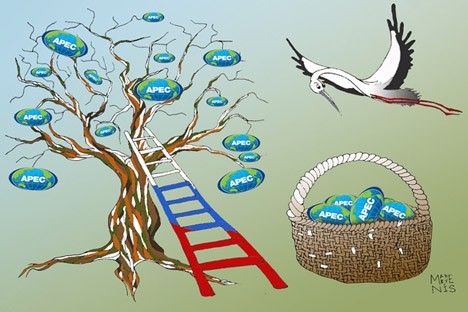 Pragmatic partnership with the global dimension. Click to enlarge the image. Drawing by Anisia Boroznova