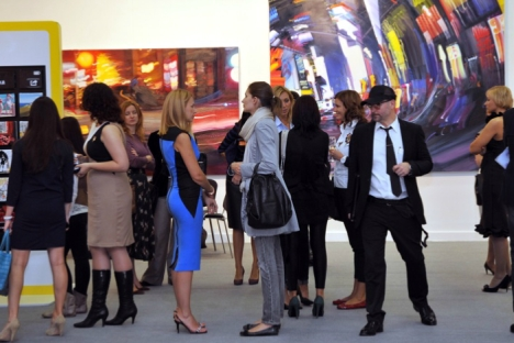 The 16th annual Art-Moscow contemporary art fair will run through until the end of September. Source: Art-moscow.ru / Press Photo