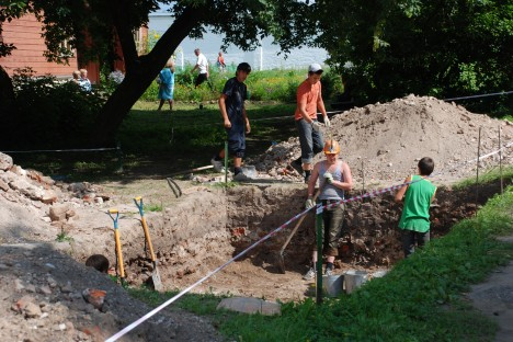 Archeological excavations in the town of Alexandrov, The Vladimir Region. Source: Lori / Legion Media
