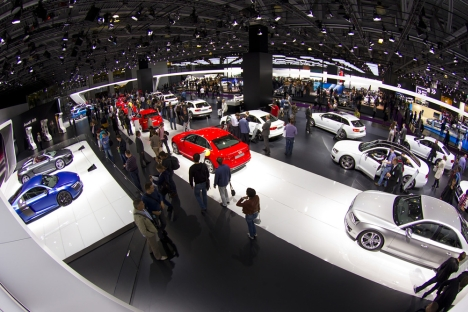 Moscow International Automobile Salon 2012. Source: Kommersant