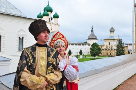 """Rostov the Great is the applicant for inclusion in the List of the World Heritage of UNESCO, and in 1999 it has come in the programme of 100 monuments requiring for rescue, carried out by """"Fund of world monuments."""" Source: Anna Solovyeva"""