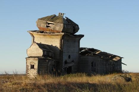Unezhma – an abandoned village on the White Sea. Source: Lori / Legion Media