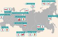 12 most inaccessible tourist destinations in Russia