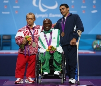 Russian breakthrough at London Paralympic