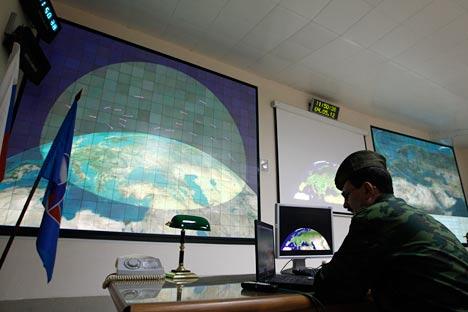 Pour l'instant le système antimissile américain déployé en Europe ne fait qu'agacer Moscou. Crédit photo: AP