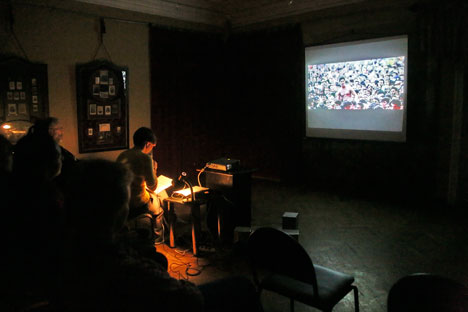 The Film show in the Metenkov House Photography Museum in Yekaterinburg. Source: Tatyana Andreeva.