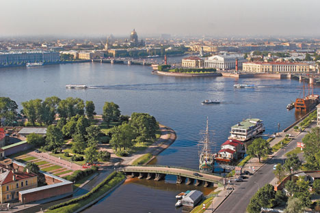 St Petersburg is planning to build on British expertise to develop a creative cluster. Source: Focus pictures.