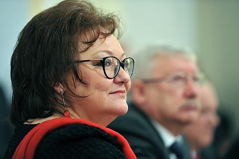 Olga Kryshtanovskaya is the head of the RAS Sociology Institute's Center for the Study of Elites, Professor Emeritus at Glasgow University, Doctor of Sciences (Sociology) and author of Anatomy of the Russian Elite. Source: RIA Novosti