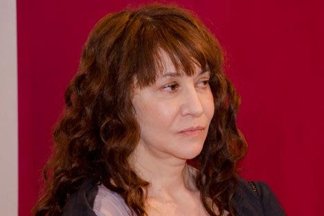 "Elena Sarni, one of the judges at New York's Russian Documentary Film Festival: ""Our criteria for the festival was how clearly the director established the film's goals and  how it was executed."" Source: Press Photo"
