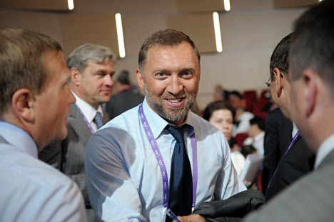 "Oleg Deripaska: ""What we need now are 100–150 trained and experienced managers – responsible, honest, and loyal to the country. We need them to occupy all key positions, in both state-owned and private companies."" Source: RIA Novosti / Grigory Sysoev"