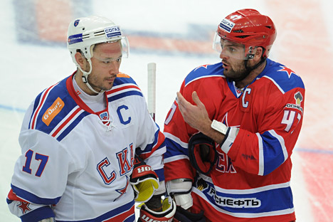 Russia's NHL hockey player Ilya Kovalchuk (left) and Alexander Radulov (right) will join KHL. Source: ITAR-TASS