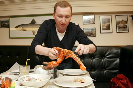 Mikhail Zelman opened the first Goodman restaurant in London in 2008. Source: ITAR-TASS.