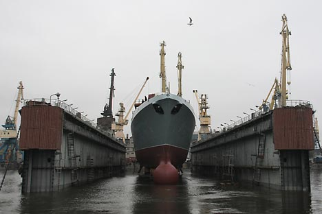 Admiral Gorshkov Foto: ITAR-TASS