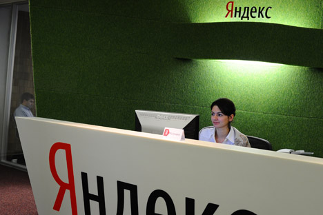 "Yandex's performance abroad may just depend on how fast it learns to ""recognize"" and ""index"" the mentality of other countries. Source: ITAR-TASS"