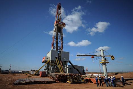 Hoje em dia, na Rússia, são exploradas duas jazidas experimentais de óleo de xisto Foto: RIA Nóvosti