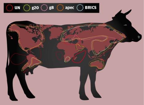 Tackling global contradictions. Drawing by Alena Repkina