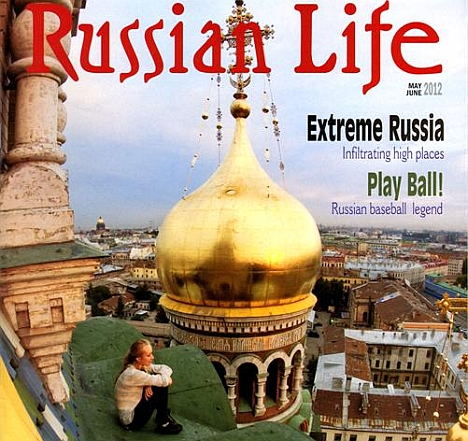 The cover of the Russian Life magazine. Source: Press Photo