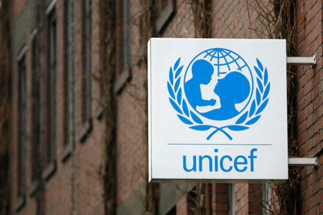 UNICEF will have to complete all of its remaining projects in Russia by December 31, 2012. Source: Reuters / Vostock Photo