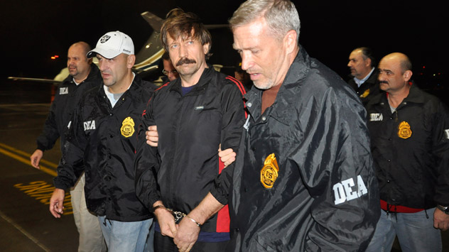 Viktor Bout is serving his sentence in a prison-wing with restricted communication provisions, under which the contact that prisoners have with the outside world is overseen with special vigilance. Source: AP