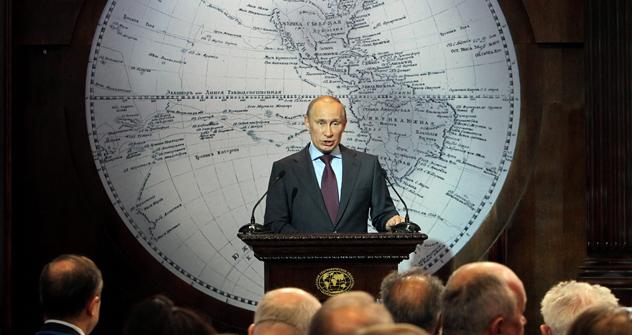Russia's President Vladimir Putin. Source: ITAR-TASS