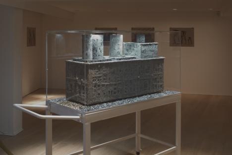 Alexander Brodsky's exhibition at London's Calvert22 Gallery. Source: Press Photo