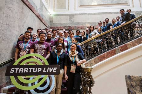 Participants of the Pioneers Festival, held on Oct. 29-31 in Vienna. Source: Heisenberg Media / Press Photo