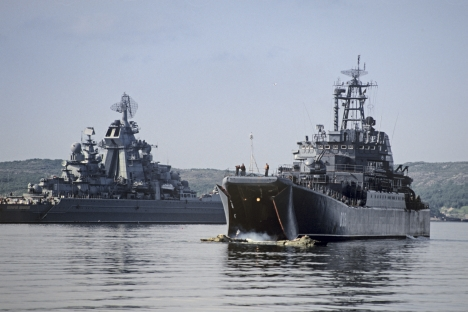 Russia's Northern Sea Fleet. Source: RIA Novosti