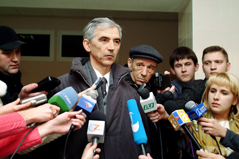 Russia's physicist Valentin Danilov, convicted in 2004 of spying for China, expecting his release. Source: ITAR-TASS