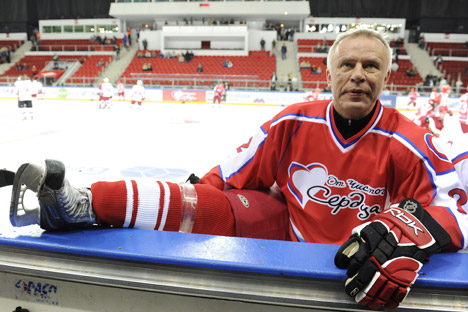 Viacheslav Fetisov: My present job is to support amateur and university sports. Source: ITAR-TASS.