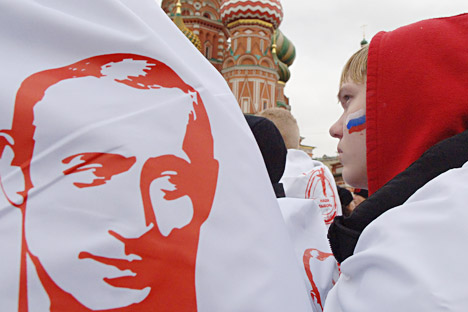 "Even among those who voted for Putin, no more than 27 percent (versus the average 24 percent) believed that the organizers of protest actions sought ""to overthrow the government by organizing mass riots.""  Source: ITAR-TASS."