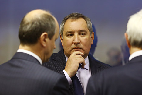 According to Rogozin, the total share of private capital in Russia's military-industrial complex should be expanded to 30-35 percent. Source: ITAR-TASS.