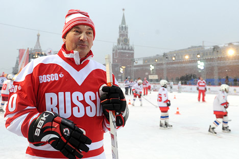 Vladislav Tretiak: The Russian national hockey team coming into its own: We are on the right track. Source: ITAR-TASS
