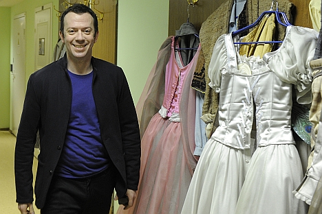 "Russia's prominent choreographer Alexei Ratmansky: ""I am grateful to my profession. And I am lucky that in ballet it is possible to be a patriot in all innocence."" Source: ITAR-TASS"