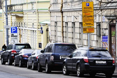 Moscow has been taking tentative steps toward introducing various paid parking schemes in its center – something most big European cities have already done. Source: ITAR-TASS.