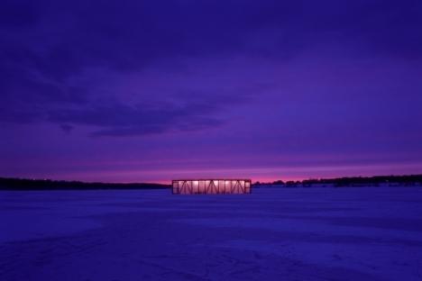 Alexander Brodsky's Ice Pavilion. Source: Yuri Palmin / Press Photo
