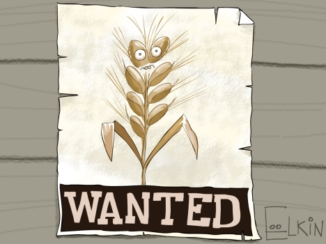 Can Russia do better in grain production? Drawing by Sergei Yolkin