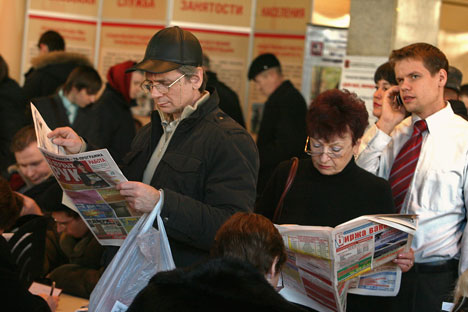 "People are gradually getting rid of the wide-spread Soviet stereotype that ""it is bad to change work frequently."" Source: PhotoXpress."