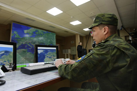 The military Internet will make it possible for commanders and bosses at different points to keep in contact. Source: ITAR-TASS