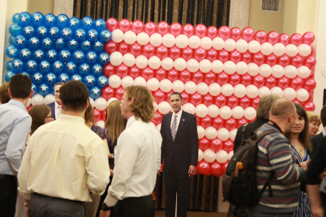 The 2012 Election Night in Spaso House. Source: RIR
