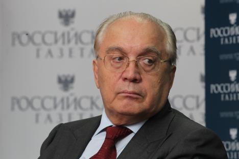 MGU Rector Viktor Sadovnichiy. Source: Rossiyaskaya Gazeta / Sergei Mikheev
