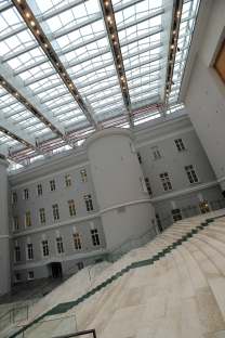 The Hemitage Museum is in the process of renovating a wing of the General Staff Building for new art. Source: Kommersant
