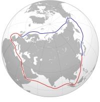 The Northern Sea Route. Source: Wikipedia