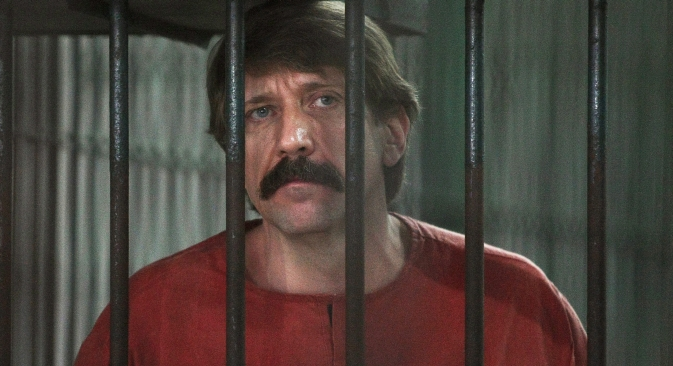 Viktor Bout was arrested in Thailand in 2008 and then extradited to the U.S., where he was convicted by unanimous decision of a Manhattan jury in November 2011 and sentenced to 25 years in prison. Source: ITAR-TASS