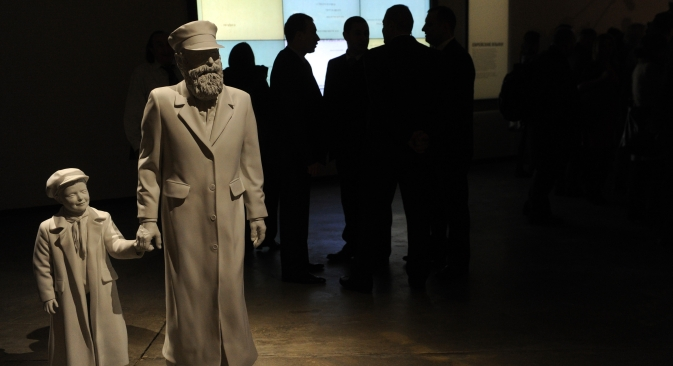 """The Jewish Museum and Center of Tolerance is clearly not a museum """"created by Jews and for the Jews,"""" but a place to improve the image of Jewish people among the Russian population. Source: ITAR-TASS"""